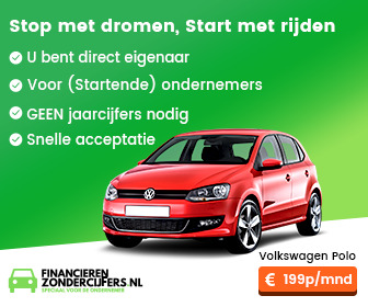 Financial lease zonder BKR toetsing